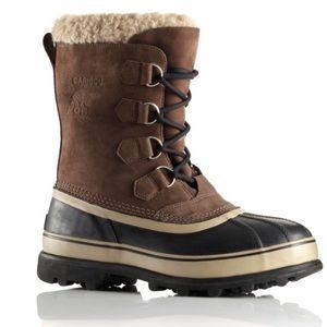 Caribou sorels waterproof boots